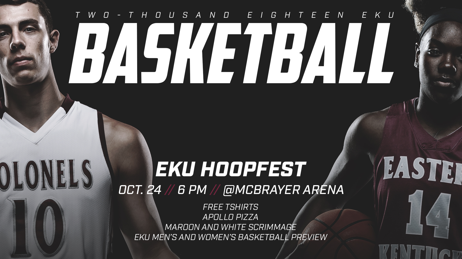 halloween hoopfest to be held wednesday, october 24 - eastern
