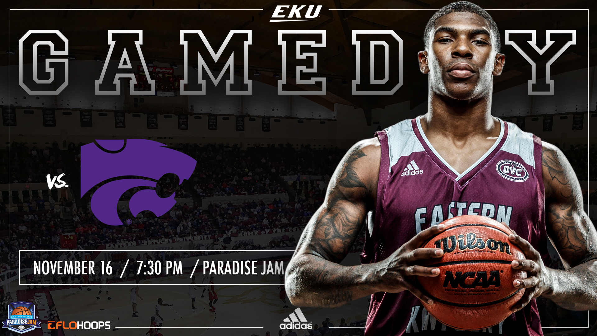 men's basketball set to face no. 12 kansas state on friday night at