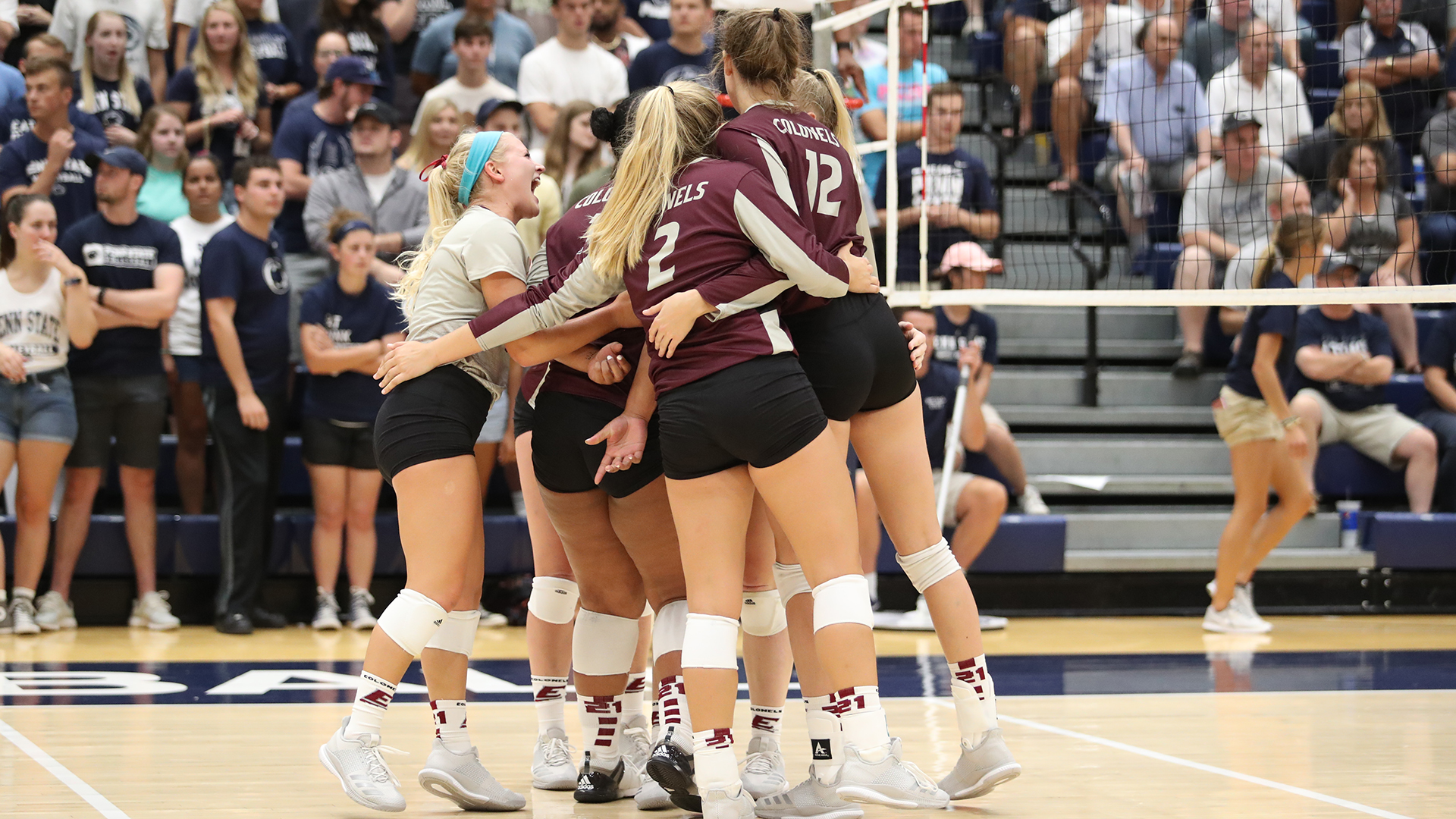 Eku Volleyball Team Goes On The Road To Face Eiu And Siue Eastern Kentucky University Athletics