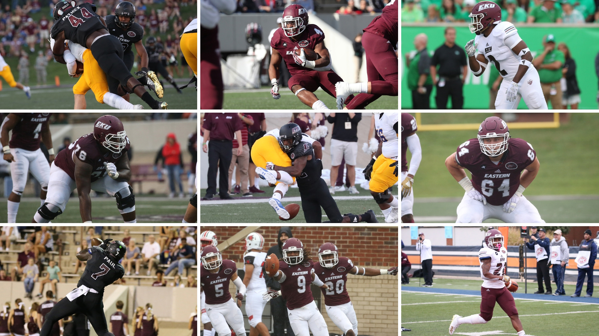 Nine Colonels Chosen To All-Conference Team By Phil Steele - Eastern