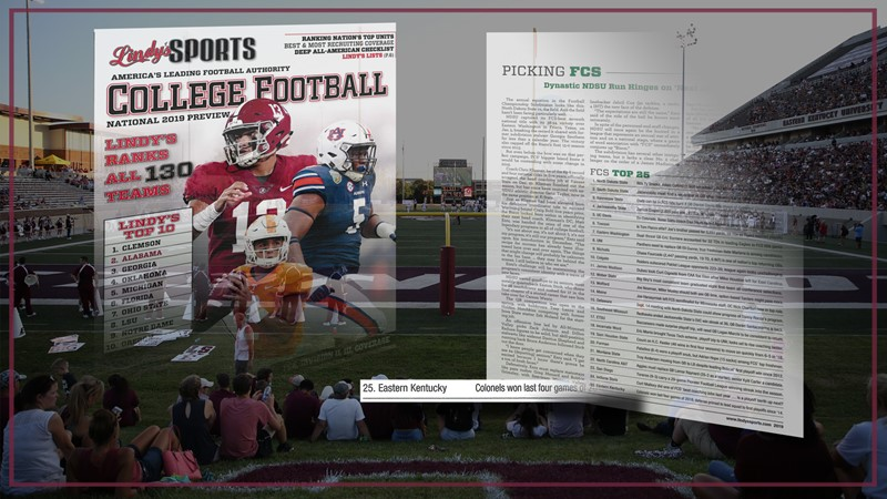 Lindys Sports College Football National 2019 Preview